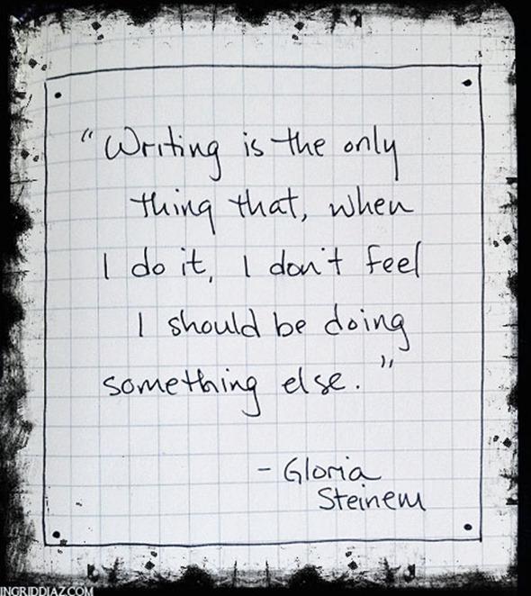 writingistheonlything